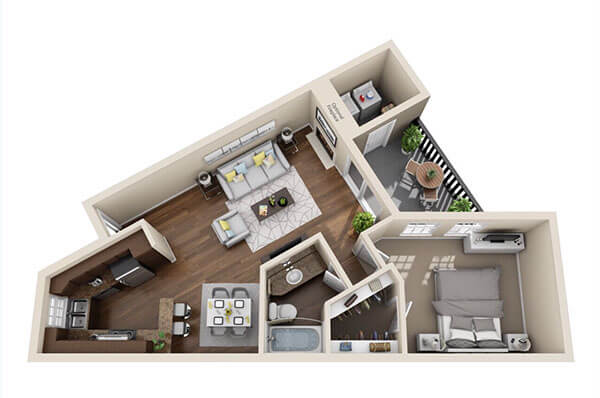 Woodford Estates Charlotte Floor Plan