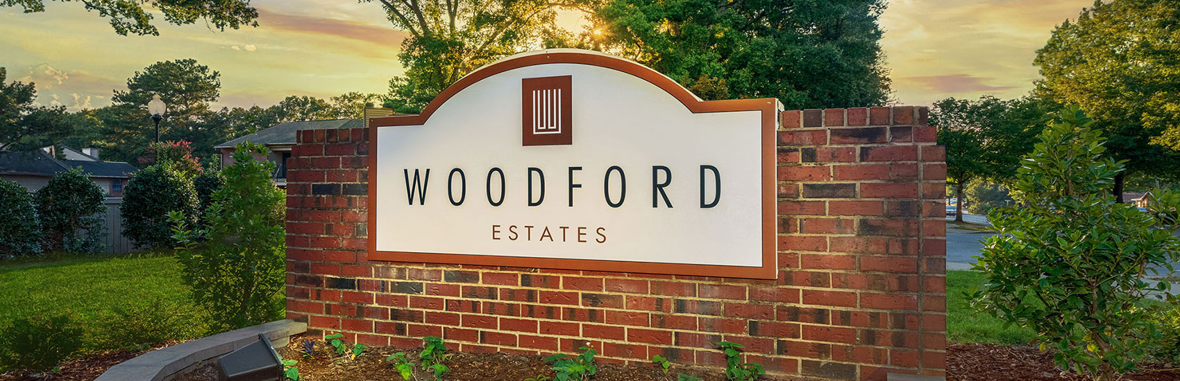 Woodford Estates Entrance